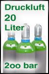 Druckluftflasche 20 Liter 200 bar, gefüllt