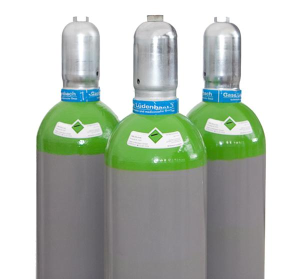 Kaufflasche Druckluft 200 bar 50 Liter gefüllt