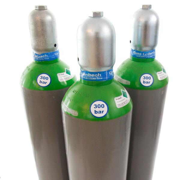 Kaufflasche Druckluft 300 bar 50 Liter gefüllt